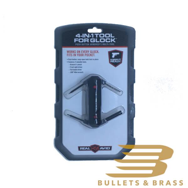 Real Avid 4-in-1 Tool For Glock